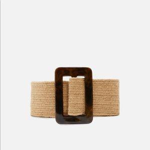 Zara rustic belt